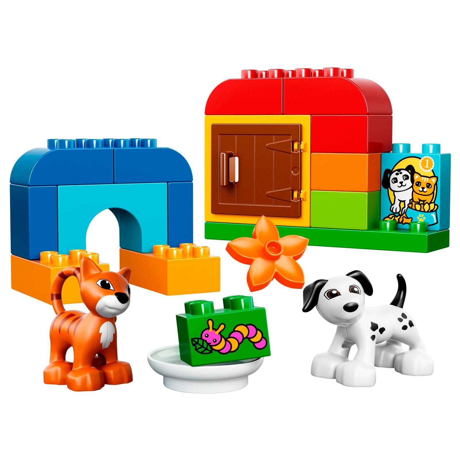Конструктор LEGO Duplo 10570 Лучшие друзья: кот и пёс<br>