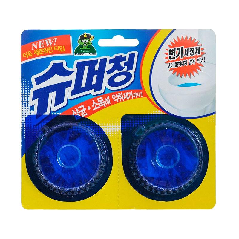Очиститель для унитаза Sandokkaebi Super Chang  40 гр х 2 шт