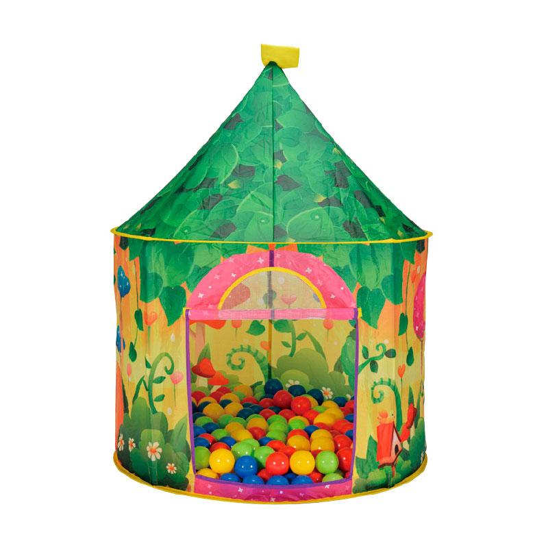 Игровой Дом Calida Садовый + 100 шаров<br>