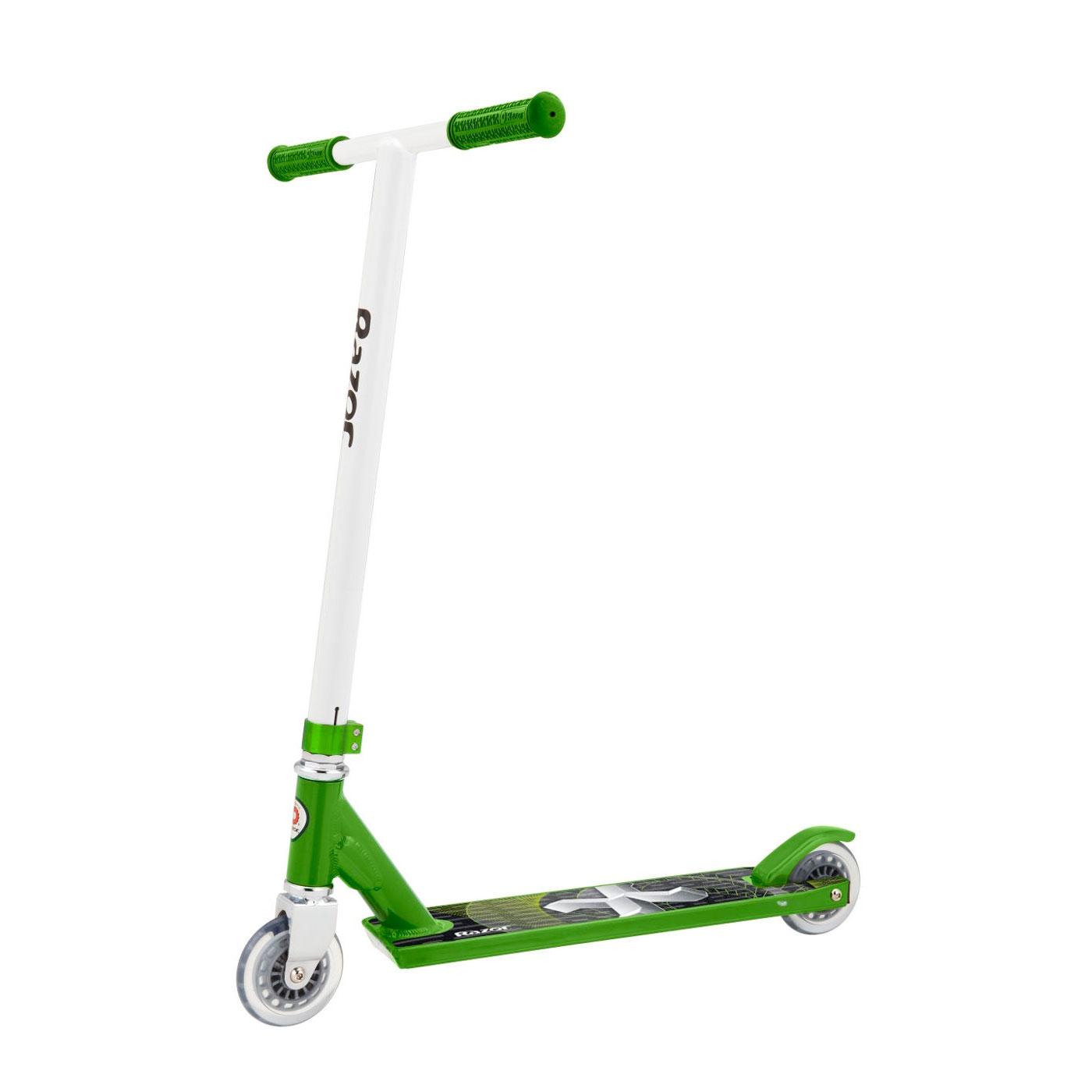 Самокат для трюков Razor Pro X Зеленый с белым<br>