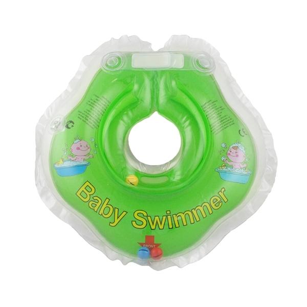 Круг на шею Baby Swimmer с 0 мес (3-12 кг) Салатовый<br>