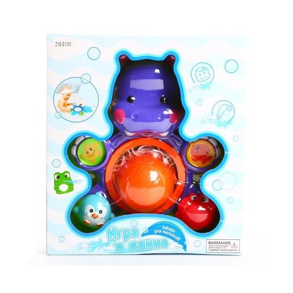 Игрушки для ванной Zhorya Бегемот<br>