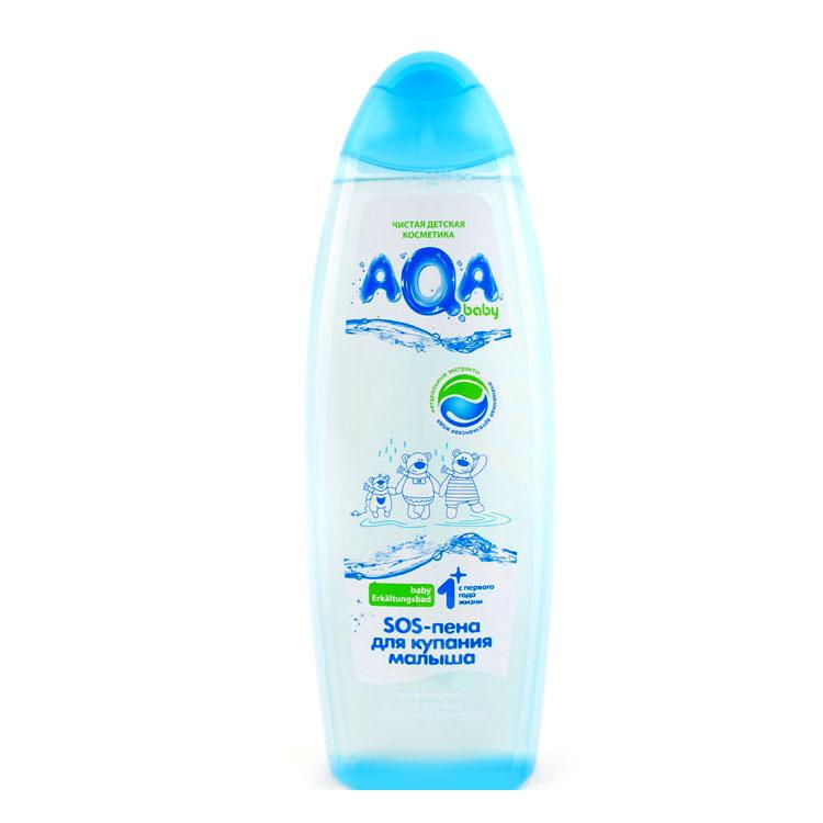 Пена для купания AQA baby Противопростудная 500 мл
