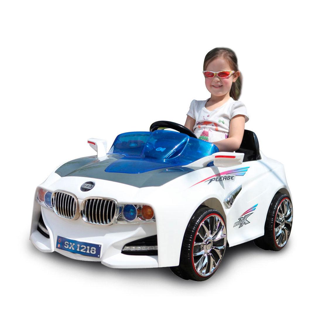 Электромобиль TjaGo BMW-Solar-System Белый<br>