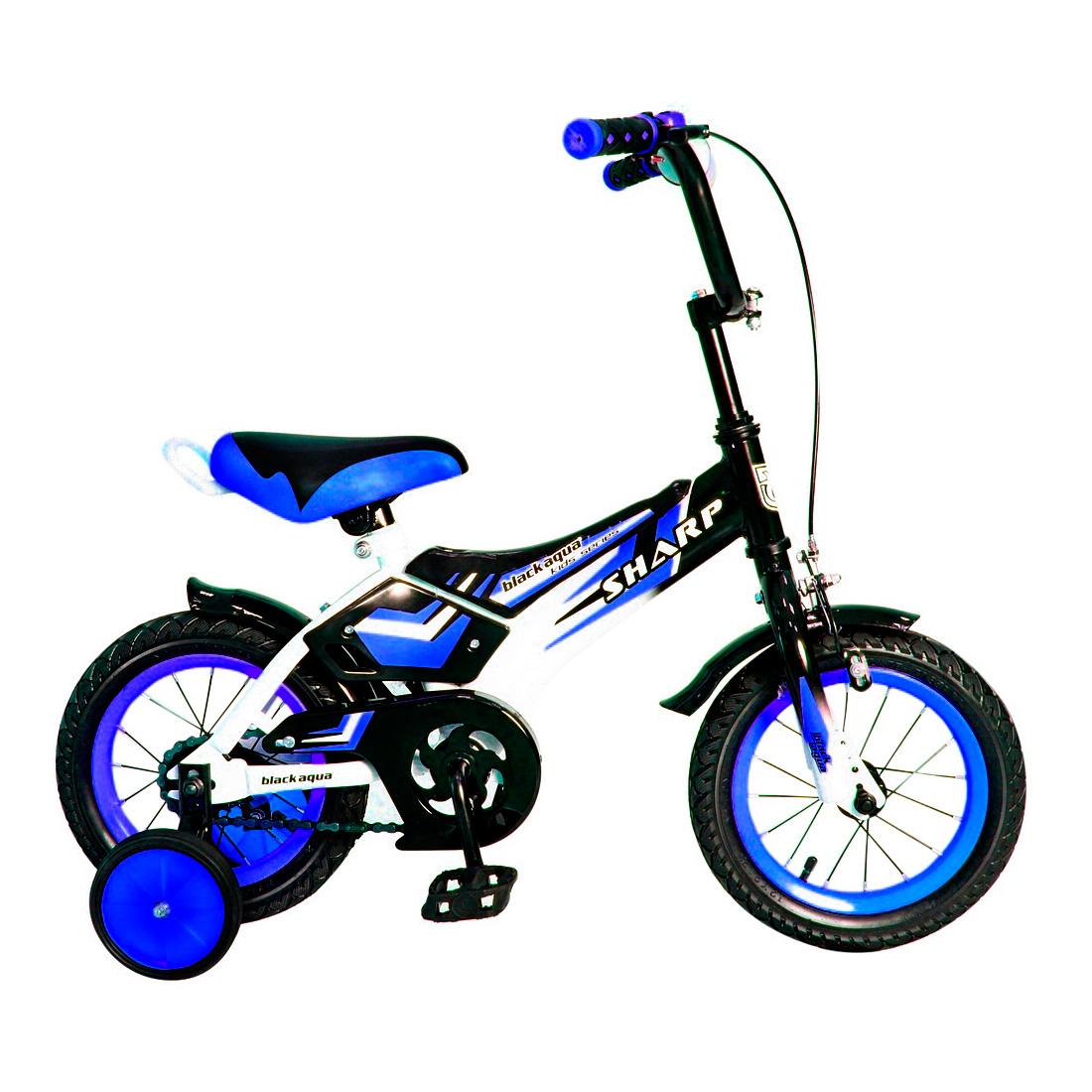 Велосипед двухколесный RT BA Sharp 12 KG1210 Синий<br>