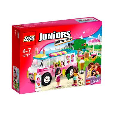 Конструктор LEGO Junior 10727 Грузовик с мороженым Эммы