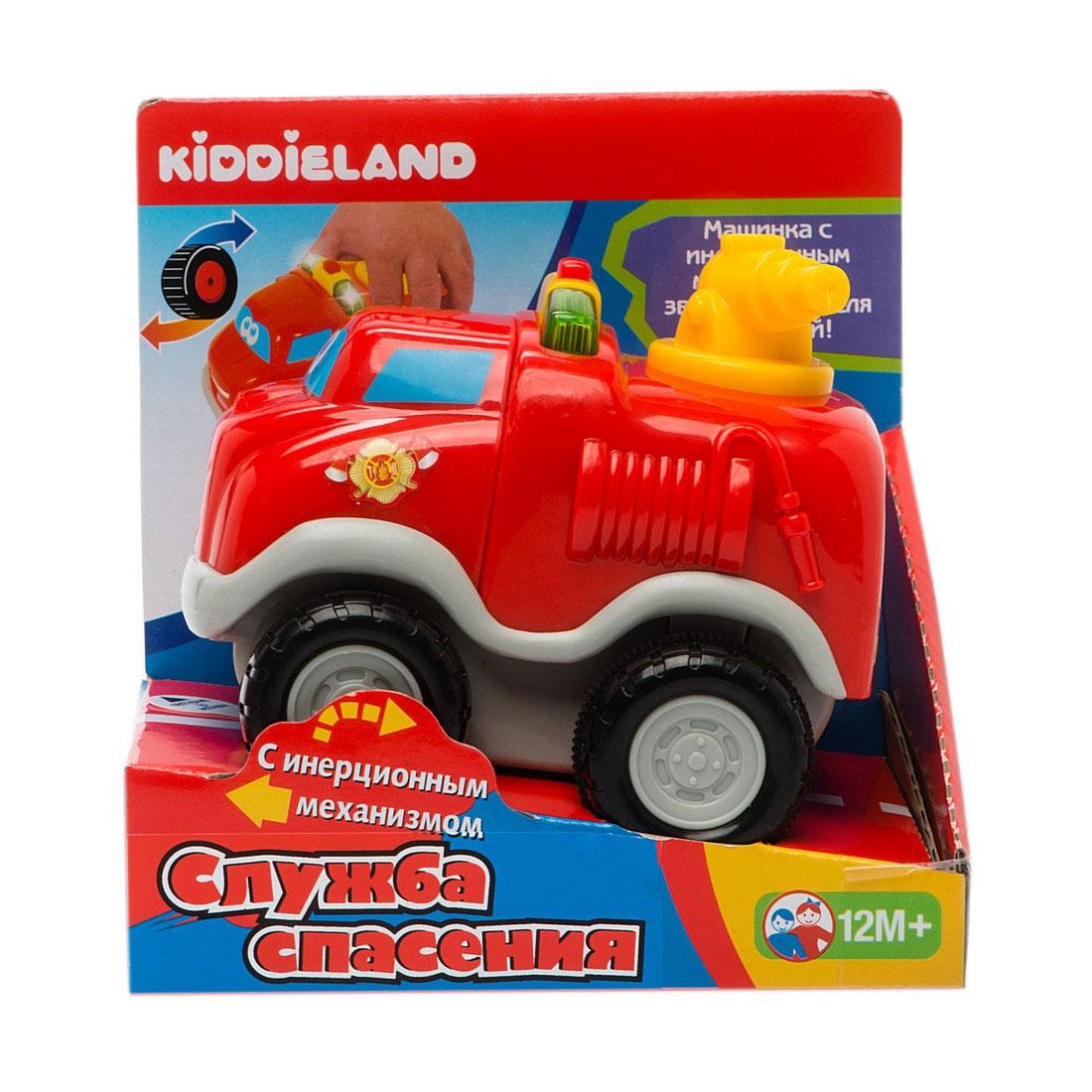 Развивающая игрушка Kiddieland Пожарный автомобиль<br>