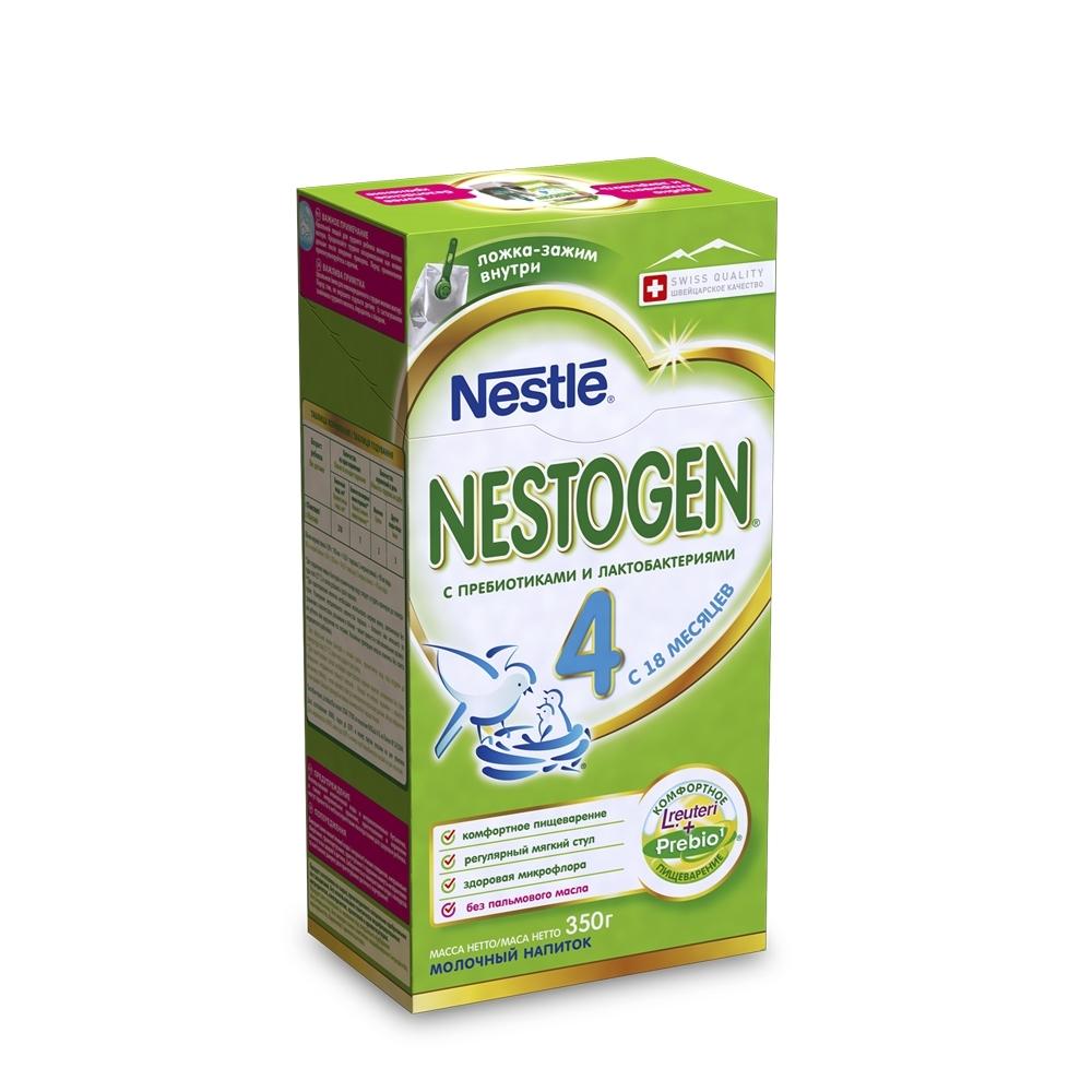 Детское молочко Nestle Nestogen 350 гр №4 (с 18 мес)<br>