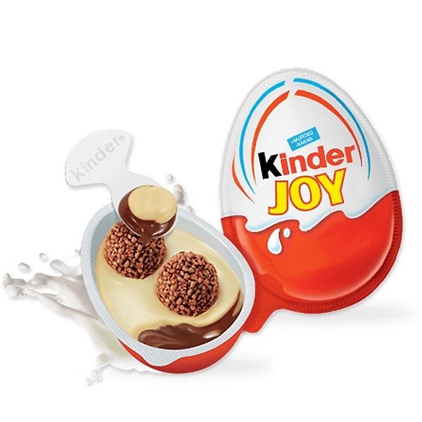 Яйцо шоколадное Kinder Джой Хеллоу Китти<br>
