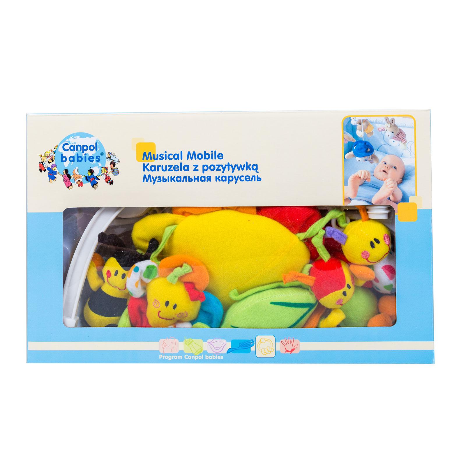 Мобиль Canpol Babies Цветная полянка с 0 до 5 мес.<br>