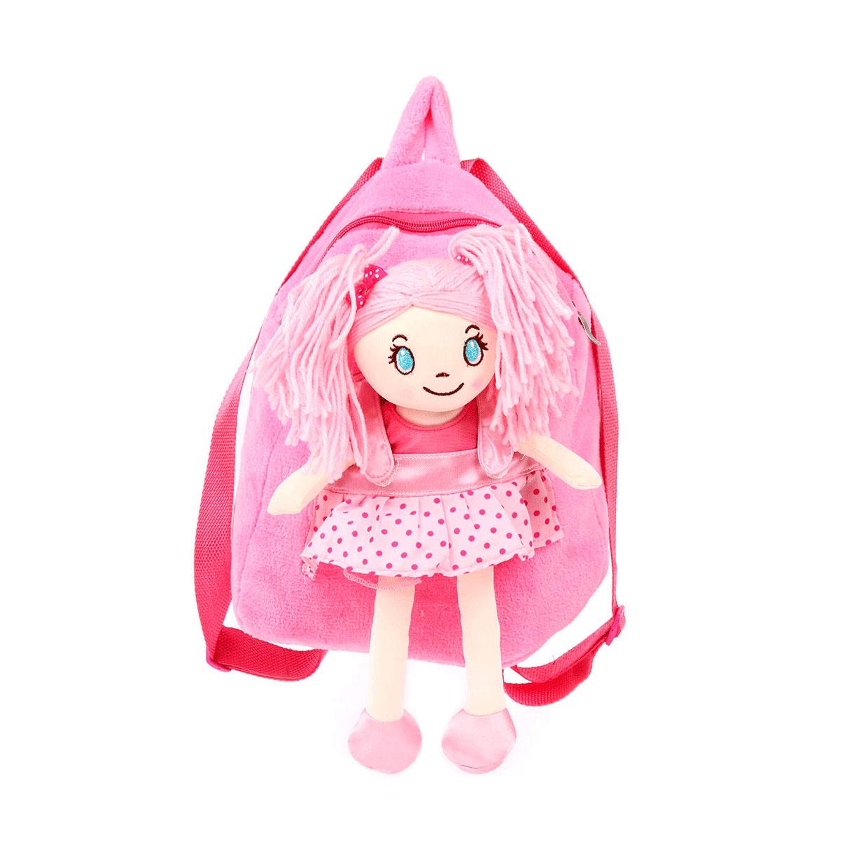 Рюкзак Leader Kids  с куклой 28 см.