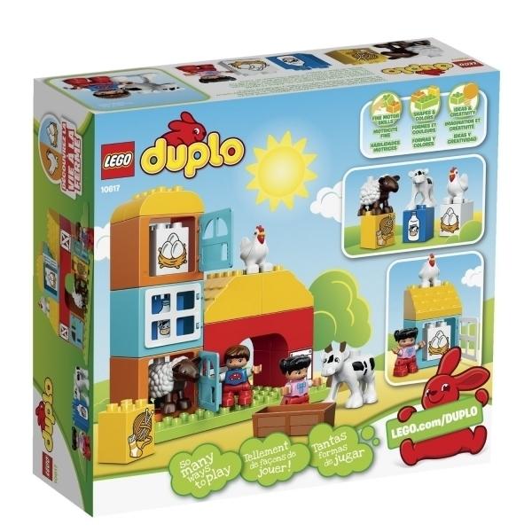 Конструктор LEGO Duplo 10617 Моя первая ферма<br>