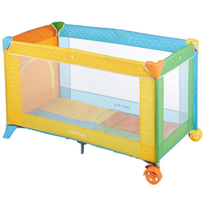 Манеж-кровать Sweet baby Carnevale Colore<br>