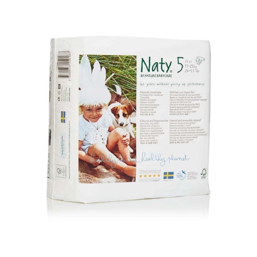 Подгузники Naty 11-25 кг (23 шт) Размер 5<br>