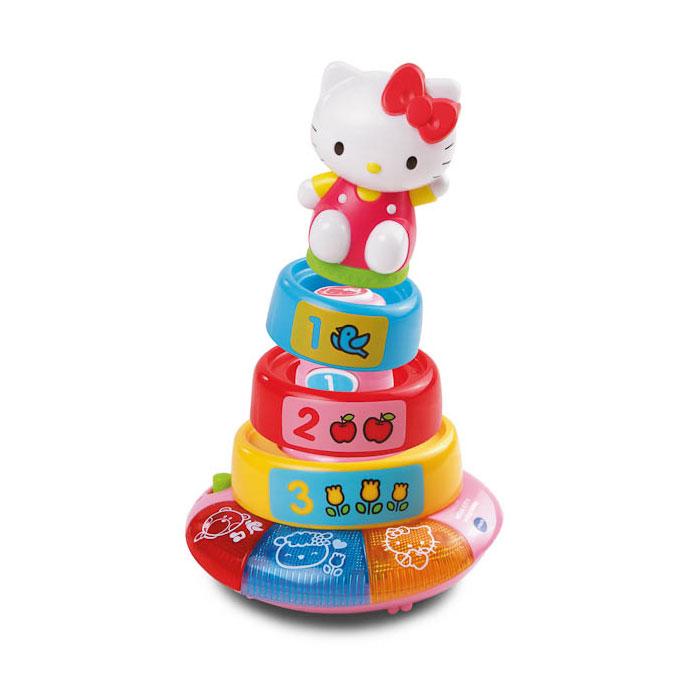 Развивающая игрушка Vtech Hello Kity Обучающая пирамидка