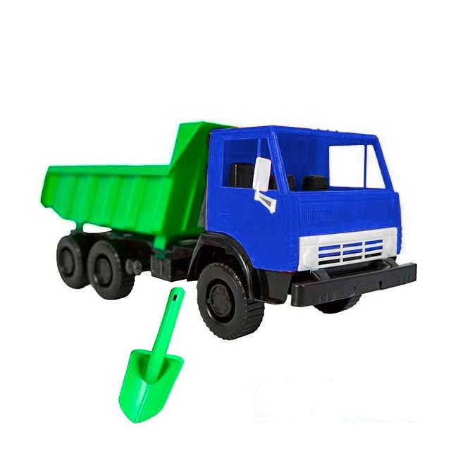 Автомобиль RT ОР559 СУПЕР МАХ Х4 Большая лопата Синий с Зеленым<br>