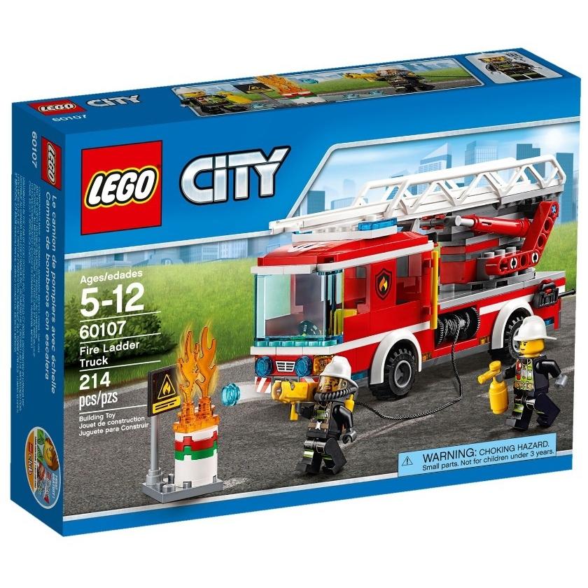����������� LEGO City 60107 �������� ���������� � ���������