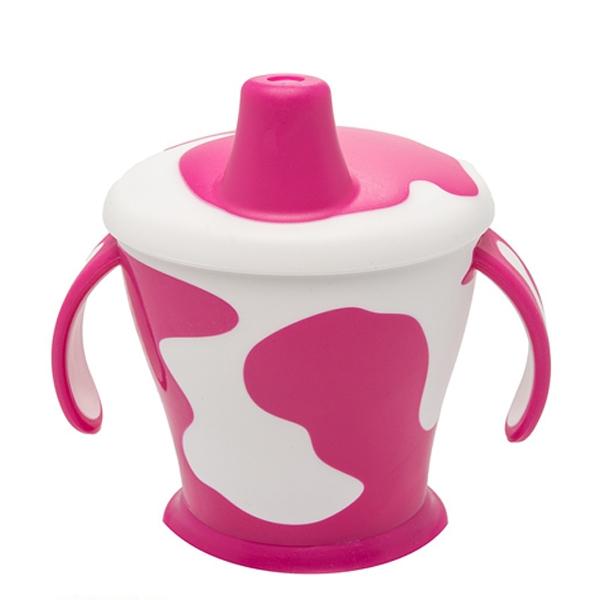 Чашка-непроливайка Canpol Babies С ручками 250 мл (с 9 мес) фиолетовая<br>