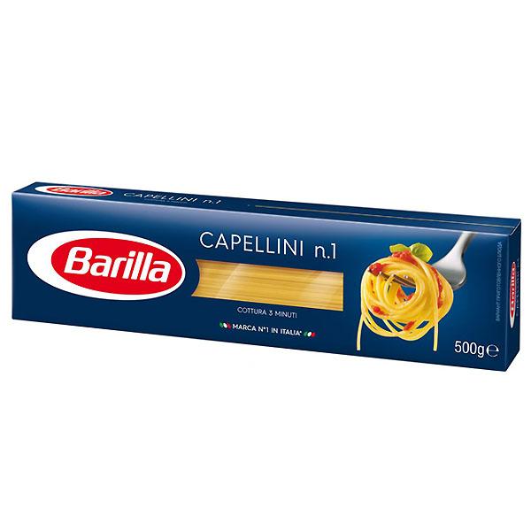 Паста Barilla длинная 500 гр Каппелини 500 гр (длинная)<br>