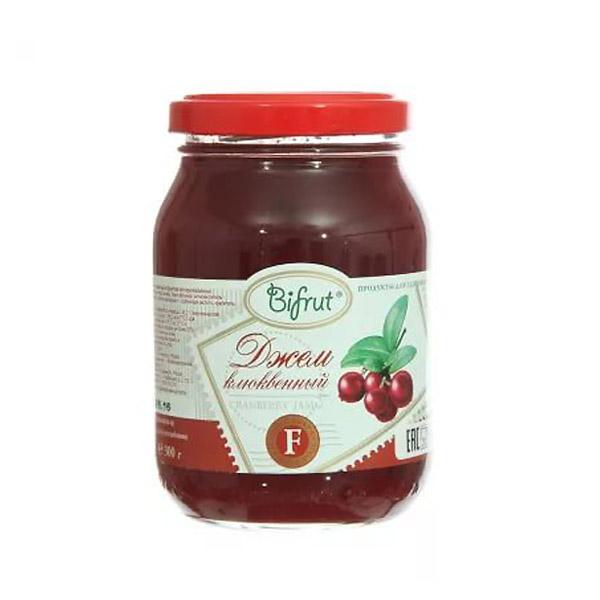 Джем Bifrut на фруктозе 300 гр Клюква<br>