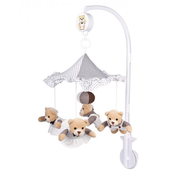 Мобиль Canpol Babies Мишки под зонтиком<br>