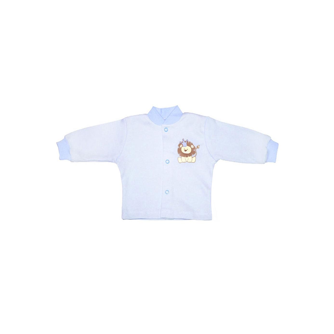Кофточка КОТМАРКОТ для мальчика, цвет голубой 9-12 мес (размер 80)<br>