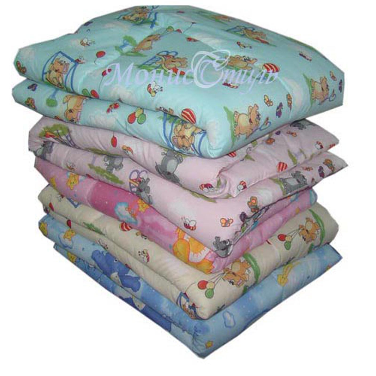 Комплект Монис стиль одеяло 110х140 и подушка 40х60 Холлофайбер Бязь К-10