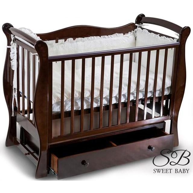 Кроватка Sweet Baby Dolce Vita Noce Орех<br>