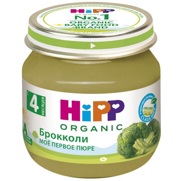 Пюре Hipp овощное 80 гр Брокколи (с 4 мес)<br>