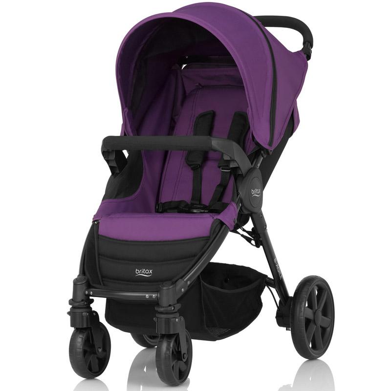 Детская коляска Britax Roemer B-Agile 4 Mineral Lilac<br>