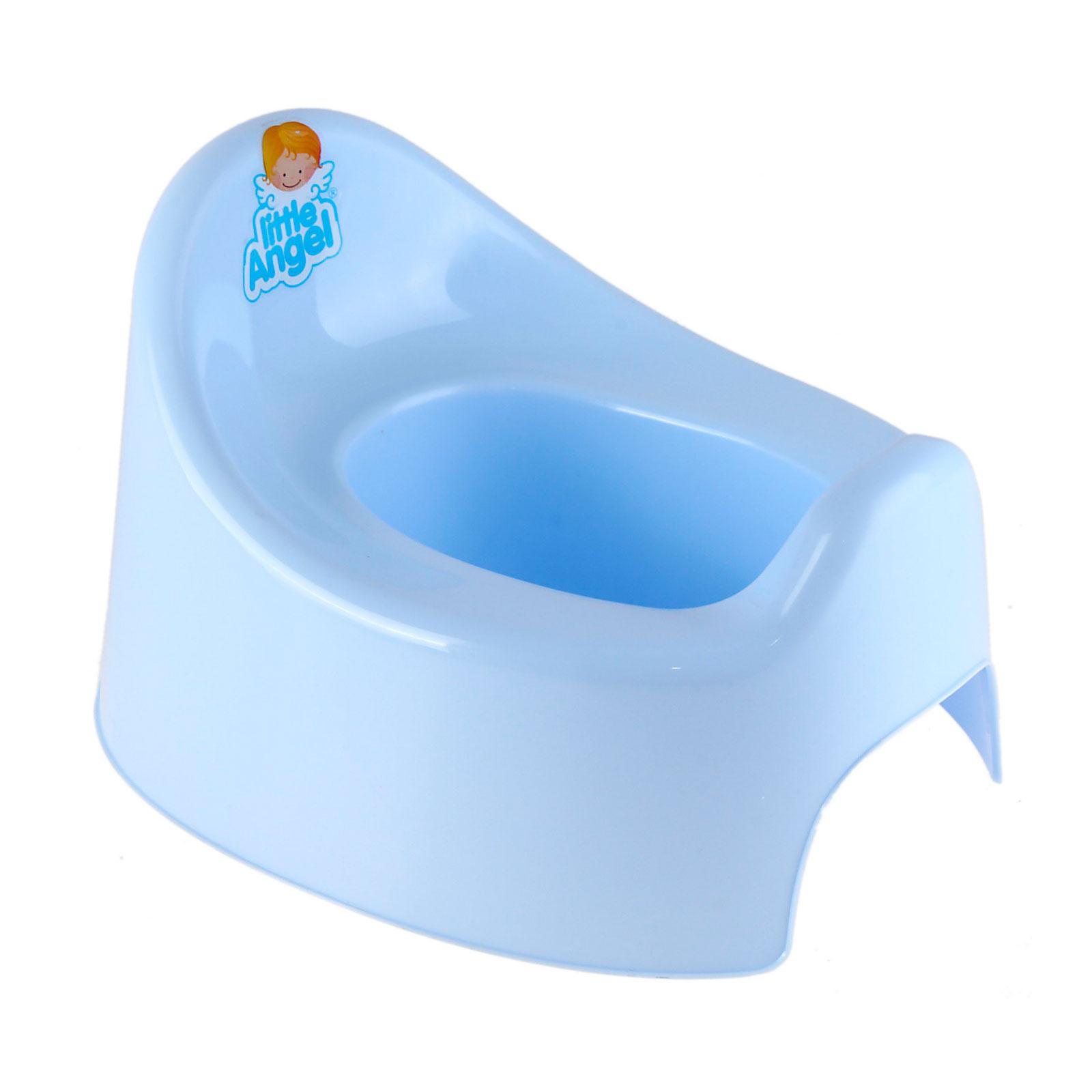Горшок детский Little Angel I&amp;#039;m голубой<br>