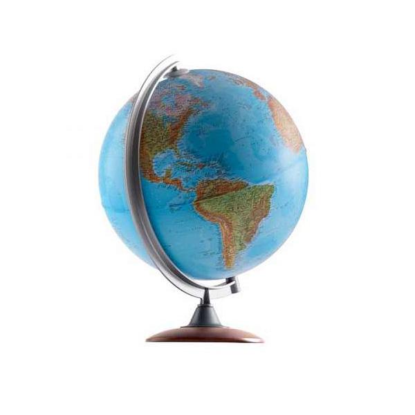 Глобус NOVA RICO ATLANTIS диаметр 25 см подсветка и деревянная подставка<br>