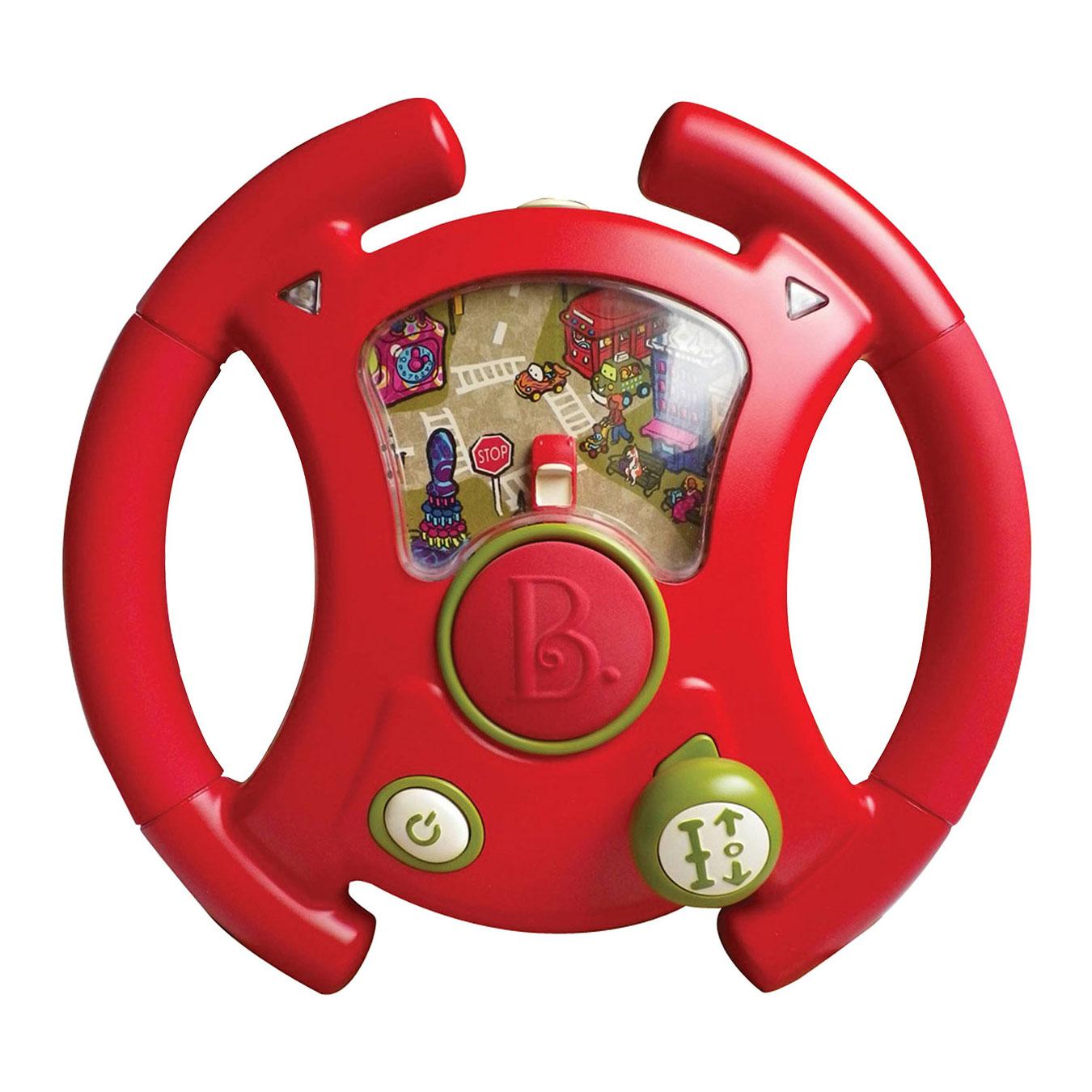 Развивающая игрушка B Dot Игрушка-руль Тебе водить от 12 мес.<br>