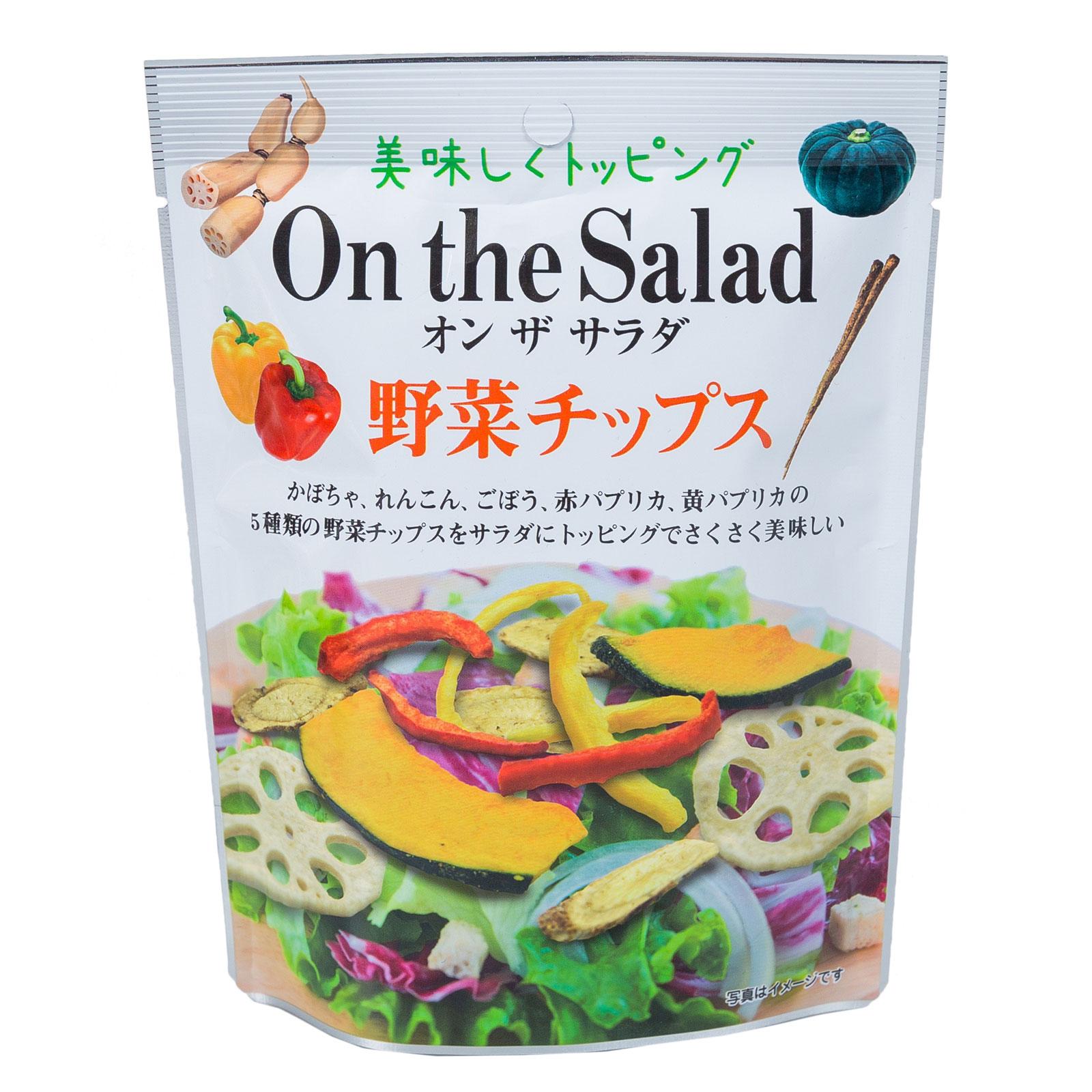 Чипсы Fujisawa Shoji овощные ассорти Из 5 видов овощей (с 3 лет) 30 гр<br>