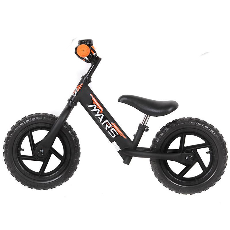 Велобег Mars A1212 TOP MATT BLACK с улучшенным седлом<br>