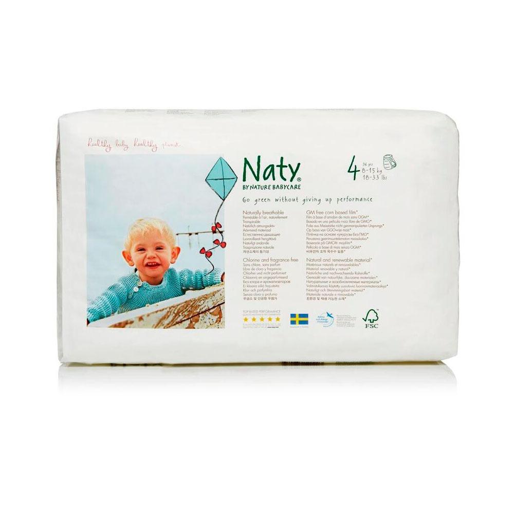 Подгузники-трусики Naty Размер 4 (8-15 кг) 36 шт<br>