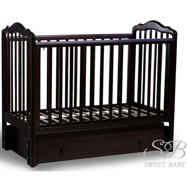 Кроватка Sweet Baby Tesoro II Cioccolato Шоколад<br>
