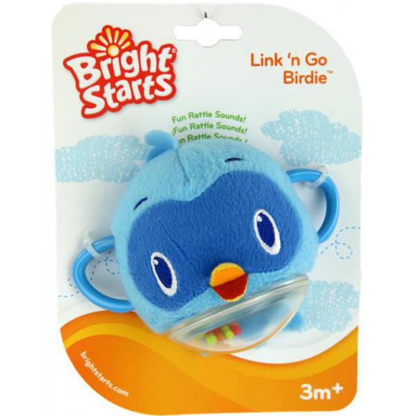 Погремушка Bright Starts Птичка синяя<br>