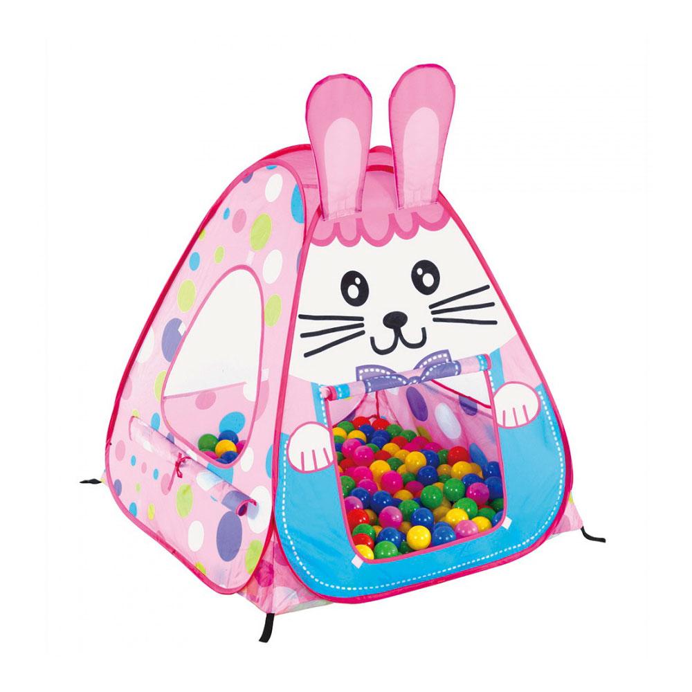 Игровой Дом Calida Кролик + 100 шаров<br>