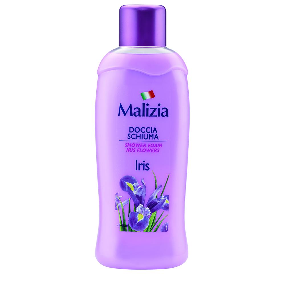 Пена для душа Malizia 1000 мл Iris Flower<br>