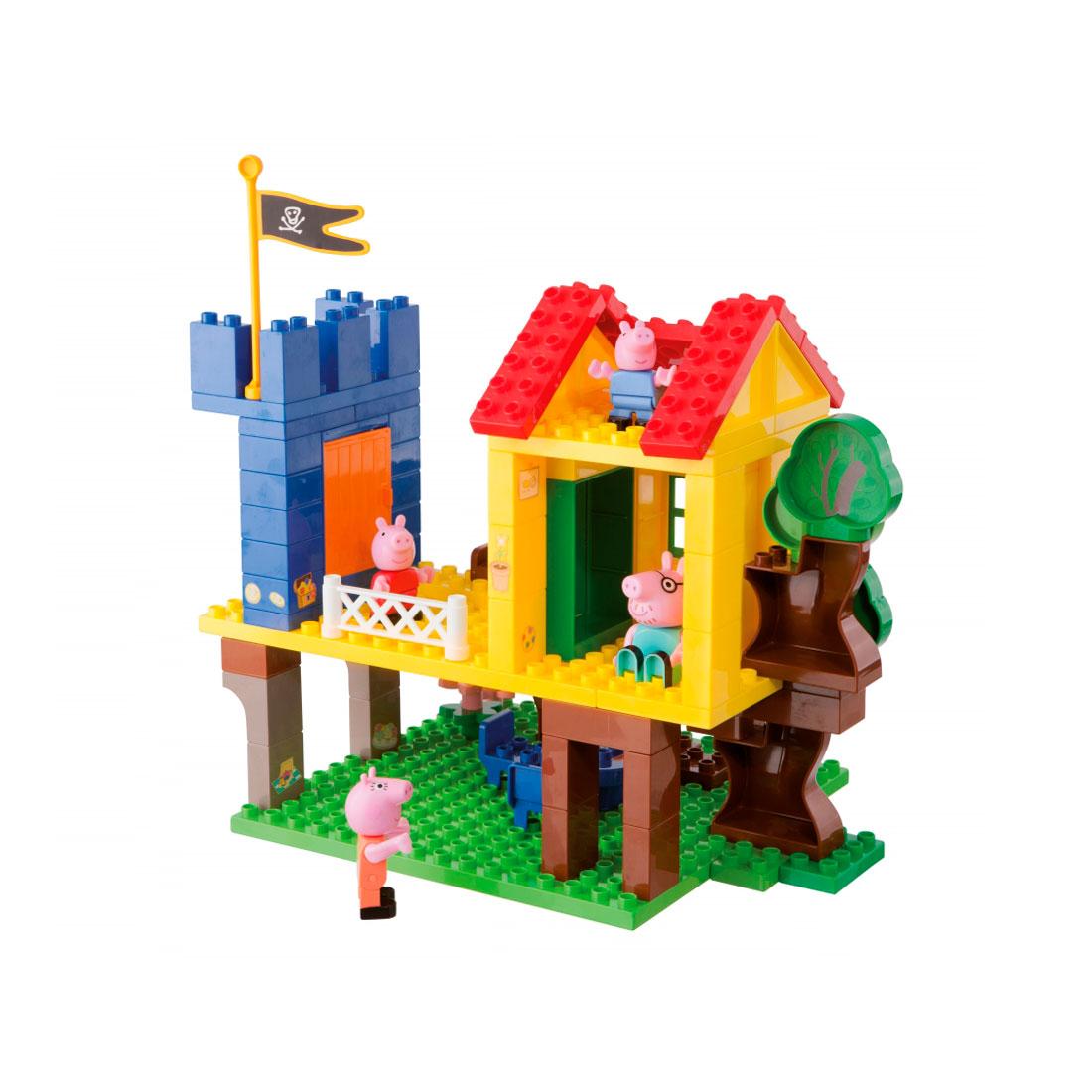 Конструктор Big Дом на дереве Peppa Pig (94 детали)<br>