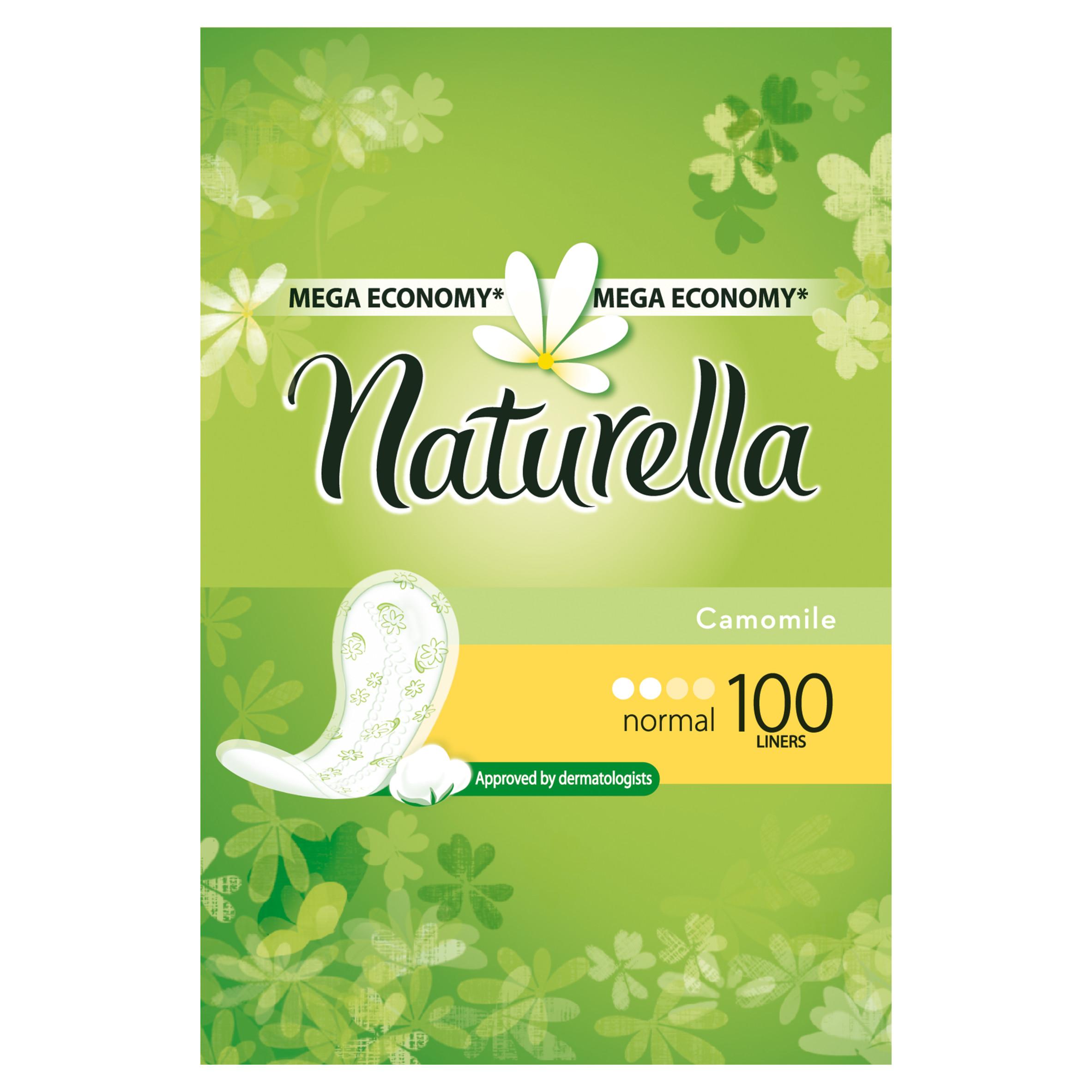 Прокладки гигиенические Naturella ежедневные Normal Camomile 100Шт.<br>