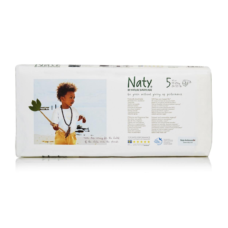 Подгузники Naty 11-25 кг (42 шт) Размер 5<br>