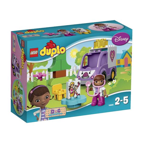 Конструктор LEGO Duplo 10605 Скорая помощь Доктора Плюшевой<br>