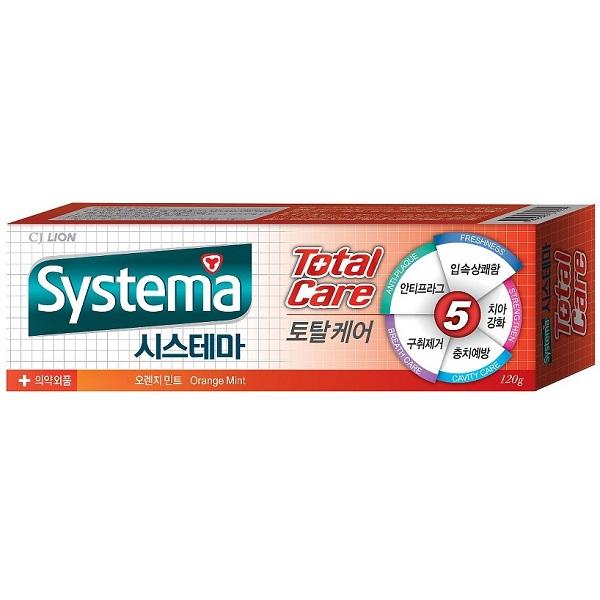 Зубная паста CJ Lion Systema Комплексный уход – Апельсин 140 гр<br>