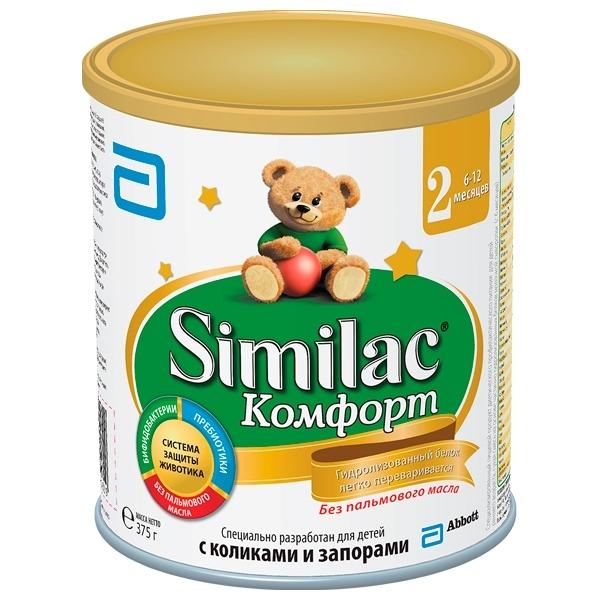 Заменитель Similac Комфорт 375 гр №2 (с 6 мес)<br>