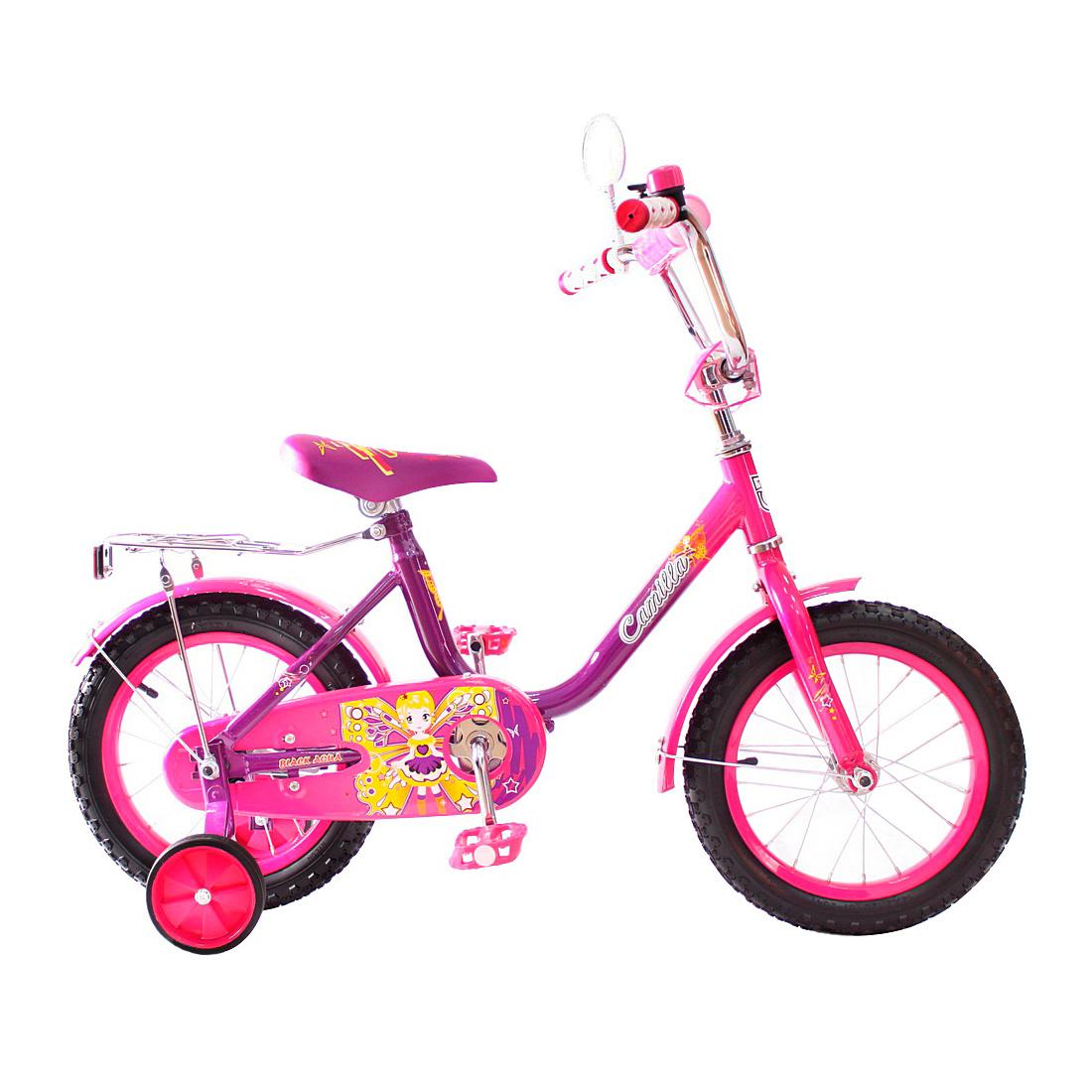 Велосипед двухколесный RT BA Camilla 14 KG1417 Фиолетовый<br>