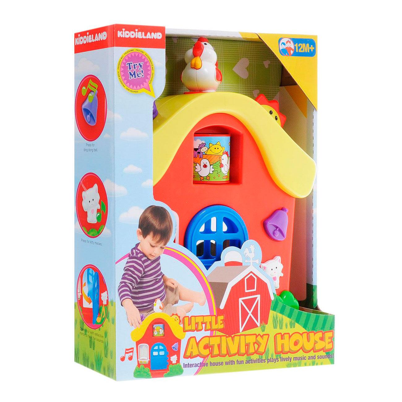 Развивающая игрушка Kiddieland Интерактивный домик<br>