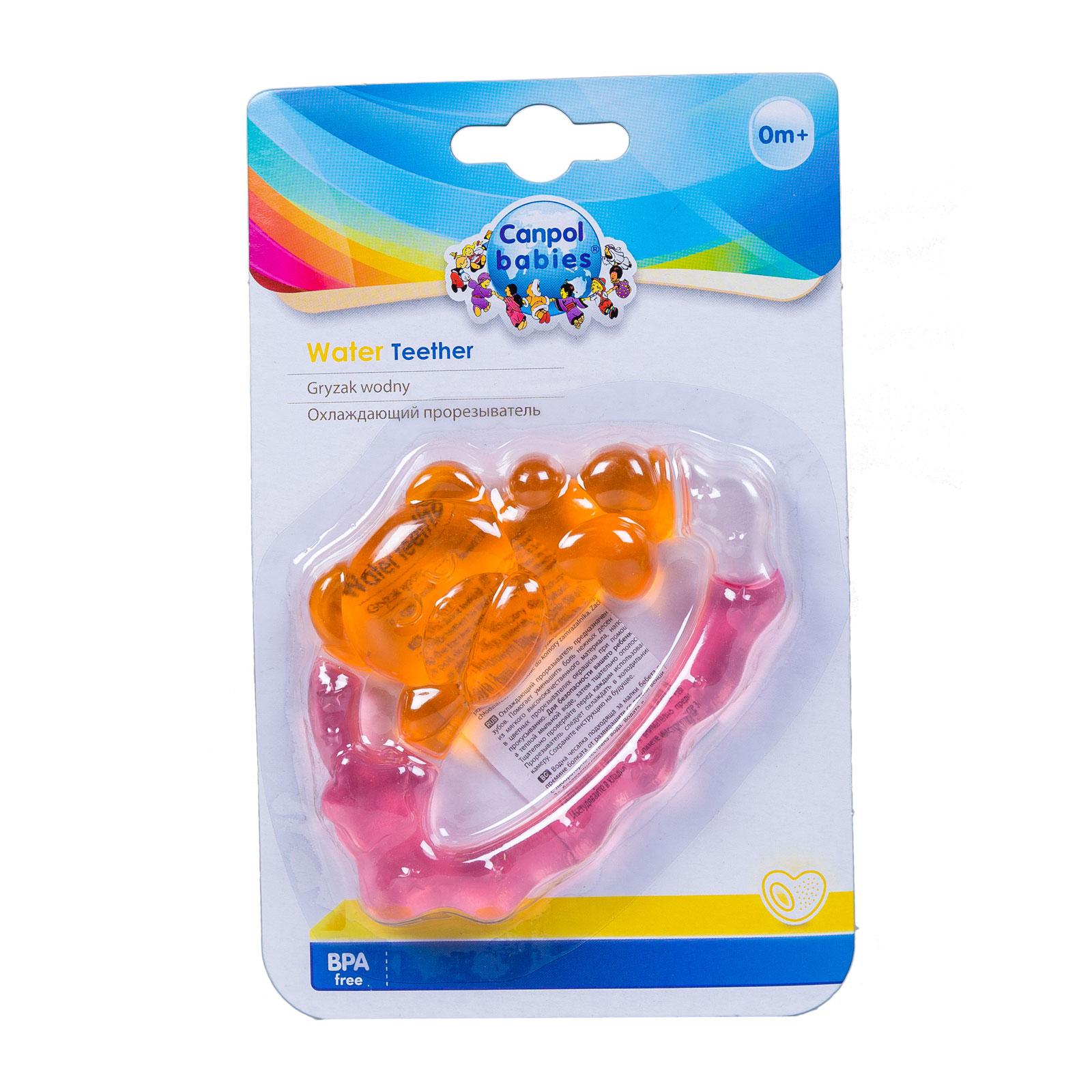 Прорезыватель Canpol Babies Спящий медвежонок охлаждающий  с 0 мес.