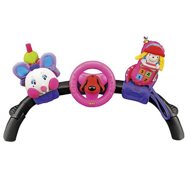 Развивающая игрушка K&amp;#039;s Kids Набор: гусеничка, руль, телефон с 0 мес.<br>